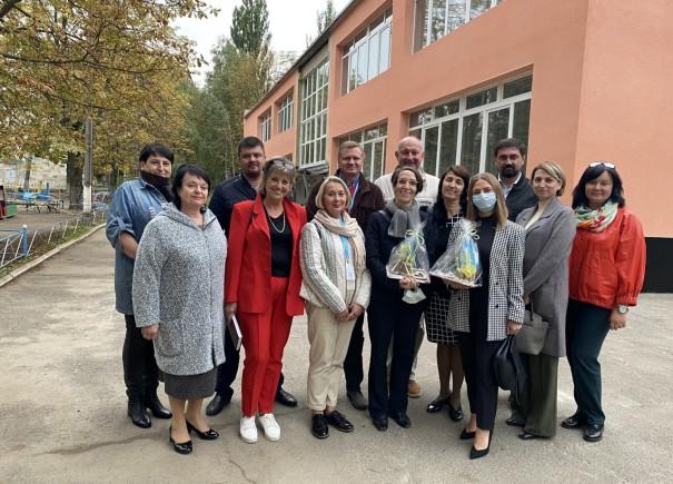 Генеральна консулка Німеччини відвідала об'єкти проєкту УФСІ VI у Кривому Розі
