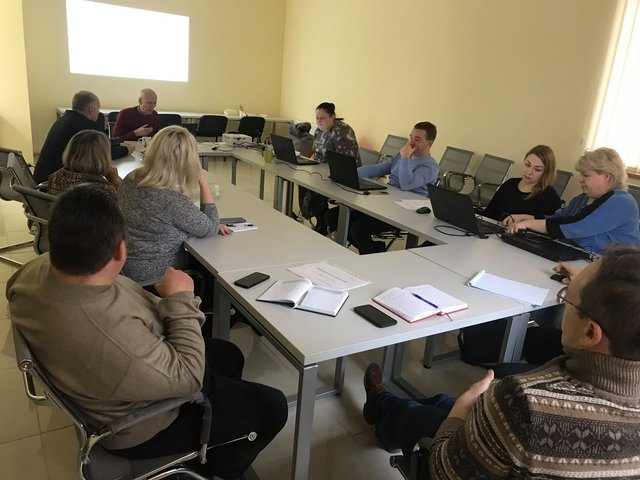 USIF consultants study the GRM