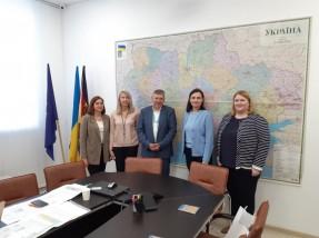 Радник - Уповноважена Президента України з питань безбар'єрності відвідала УФСІ