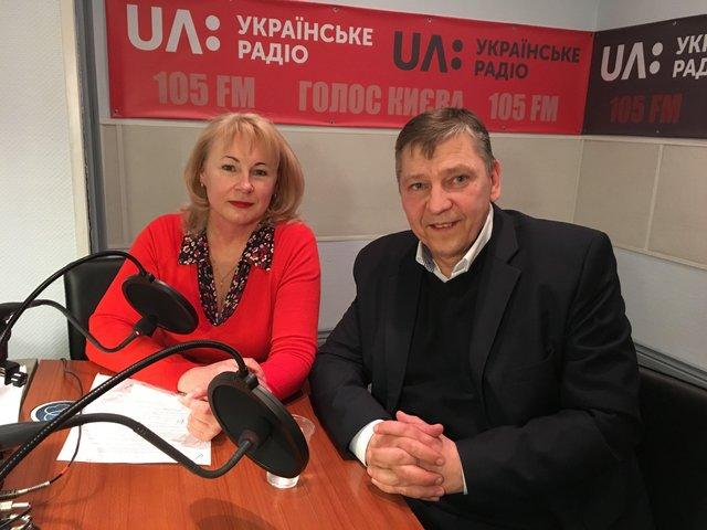 Олег Овчінніков на Українському радіо