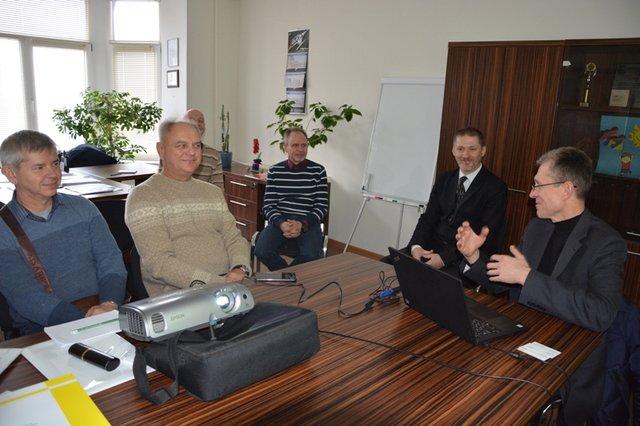 Використання сучасних будівельних технологій та матеріалів обговорювалось у Центральному офісі УФСІ з представниками компанії «Хенкель Баутехнік (Україна)»