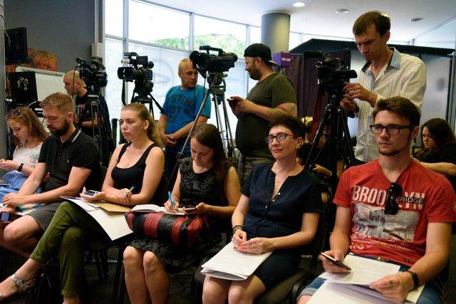 У Харкові проведено прес-конференцію, присвячену питанню облаштування житла для вимушених переселенців