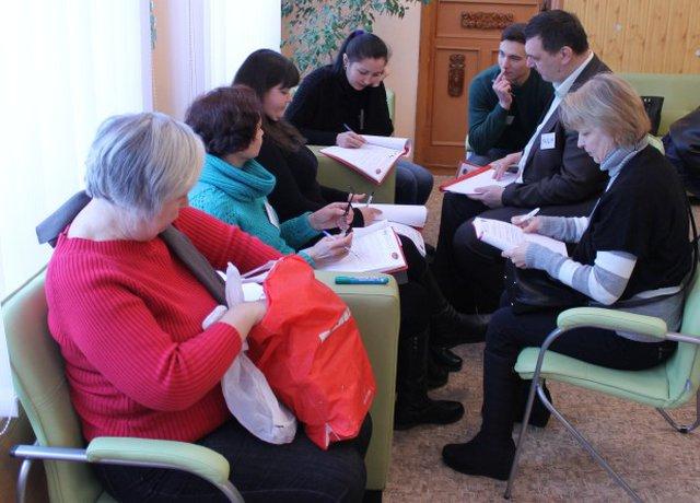 У Кам'янську закінчився ще один модуль програми УФСІ «Гідна праця»