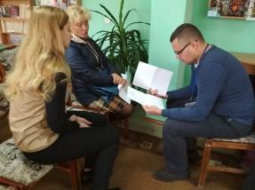На Дніпропетровщині надають правову підтримку ВПО у рамках спільного проекту УФСІ та БФ «Право на захист»