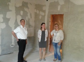 Радниці Міністерства соціальної політики України відвідали об'єкти УФСІ
