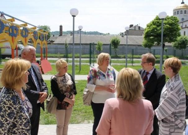 Представники Посольства ФРН відвідали об'єкт УФСІ у Львові